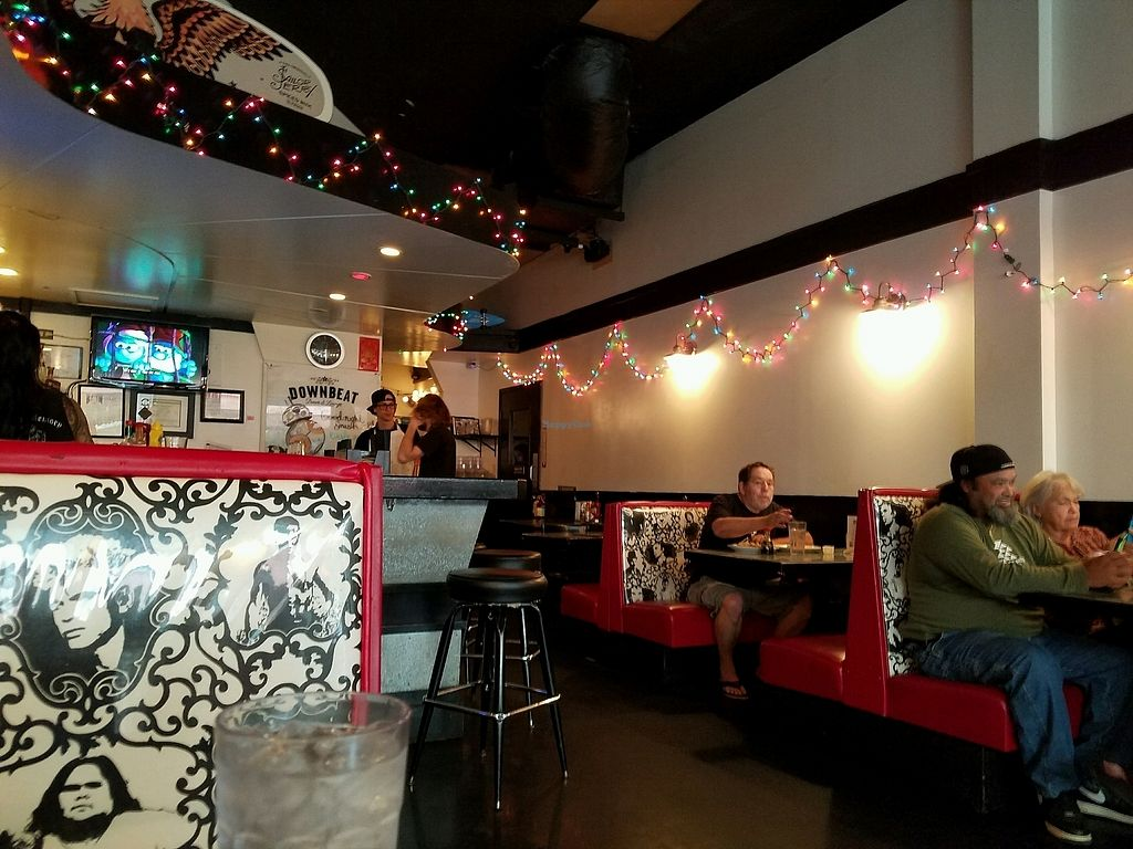 """Photo of Downbeat Diner and Lounge  by <a href=""""/members/profile/EverydayTastiness"""">EverydayTastiness</a> <br/>inside <br/> December 28, 2017  - <a href='/contact/abuse/image/25374/340233'>Report</a>"""