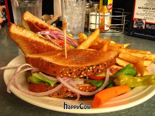"""Photo of Downbeat Diner and Lounge  by <a href=""""/members/profile/DollyWiggles"""">DollyWiggles</a> <br/>Avocado sandwhich, the healthiest option <br/> November 11, 2012  - <a href='/contact/abuse/image/25374/40150'>Report</a>"""