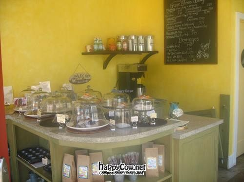 """Photo of Breakaway Bakery  by <a href=""""/members/profile/kenvegan"""">kenvegan</a> <br/>Inside the bakery <br/> June 20, 2012  - <a href='/contact/abuse/image/25403/33571'>Report</a>"""