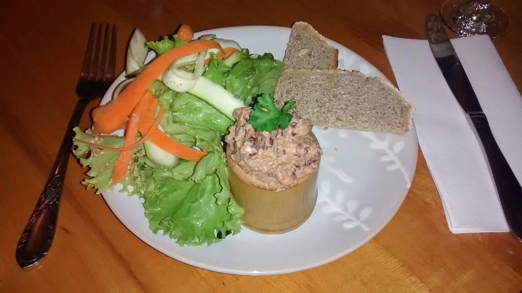 "Photo of Les Amants du Marche  by <a href=""/members/profile/JonJon"">JonJon</a> <br/>Veggie pâté with red beans, roasted peppers, paprika and hazelnuts, toasted bread and vegetables <br/> November 24, 2014  - <a href='/contact/abuse/image/25413/86347'>Report</a>"