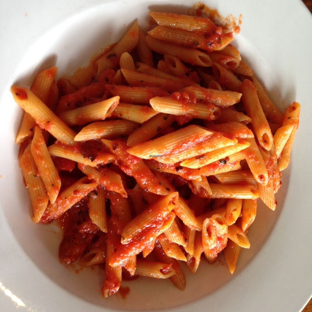 Photo of Rosti Tuscan Kitchen  by lilianmassafera <br/>penne alla rabiatta vegan <br/> January 23, 2016  - <a href='/contact/abuse/image/25528/133413'>Report</a>
