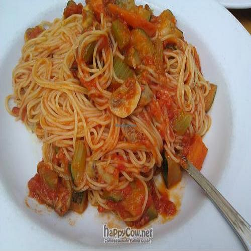 """Photo of Rosti Tuscan Kitchen  by <a href=""""/members/profile/eric"""">eric</a> <br/>capellini primavera pasta <br/> May 2, 2011  - <a href='/contact/abuse/image/25528/8504'>Report</a>"""