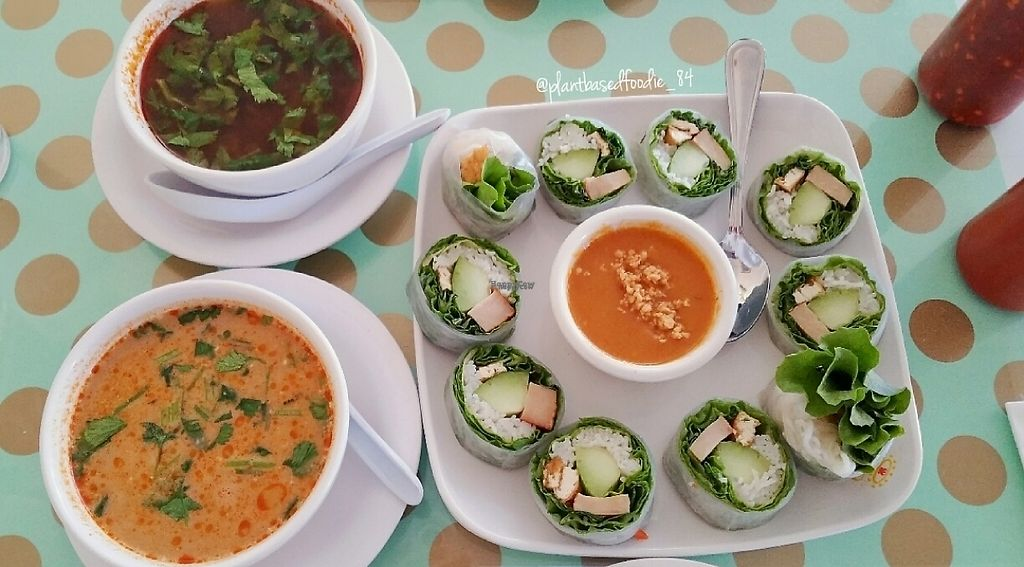 """Photo of Loving Hut - Mira Mesa  by <a href=""""/members/profile/anne420"""">anne420</a> <br/>They allowed us to get single servings of the soup. perfect for this cold weather <br/> January 25, 2017  - <a href='/contact/abuse/image/25532/216881'>Report</a>"""