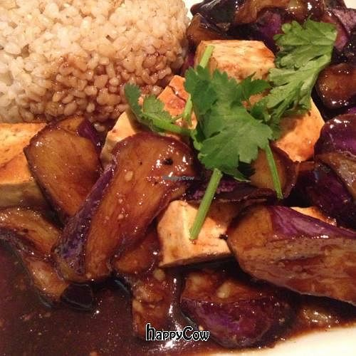 """Photo of Loving Hut - Mira Mesa  by <a href=""""/members/profile/2002rulz"""">2002rulz</a> <br/>eggplant and tofu <br/> March 20, 2013  - <a href='/contact/abuse/image/25532/45855'>Report</a>"""