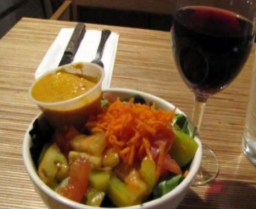 """Photo of Eat Drink Wild  by <a href=""""/members/profile/quarrygirl"""">quarrygirl</a> <br/>Fresh Salad by JL goes vegan <br/> December 26, 2011  - <a href='/contact/abuse/image/25568/210695'>Report</a>"""
