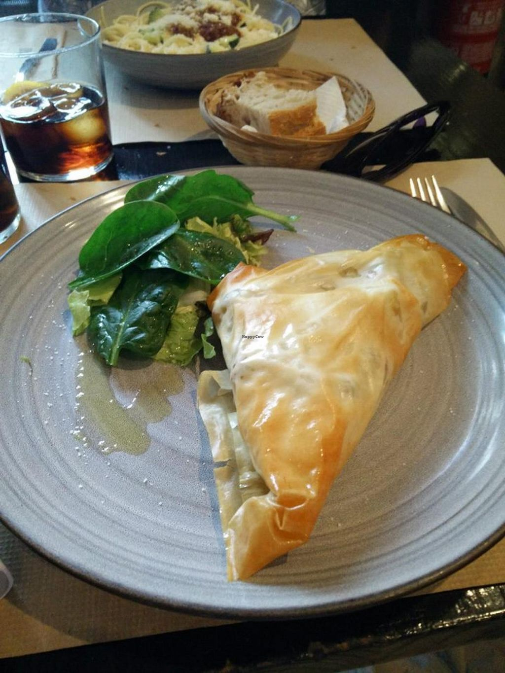 "Photo of Cocina Vegetariana Internacional  by <a href=""/members/profile/Meaks"">Meaks</a> <br/>Filo Pastry filled with Curried Vegetables <br/> May 27, 2015  - <a href='/contact/abuse/image/25635/103580'>Report</a>"