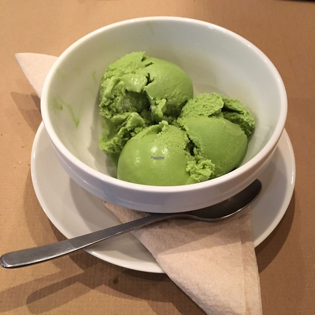 "Photo of Cocina Vegetariana Internacional  by <a href=""/members/profile/Morrigana42"">Morrigana42</a> <br/>vegan matcha ice cream <br/> December 31, 2016  - <a href='/contact/abuse/image/25635/206543'>Report</a>"