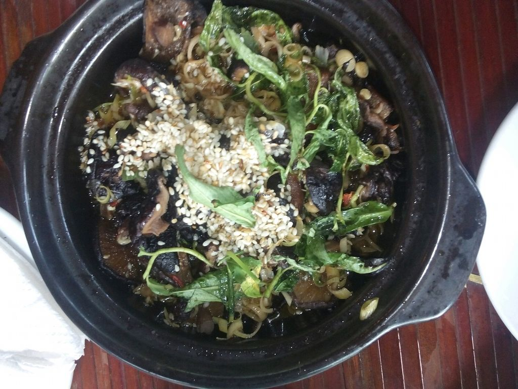 """Photo of Thien Tam  by <a href=""""/members/profile/Theresita"""">Theresita</a> <br/>mushrooms with lemongrass <br/> October 12, 2017  - <a href='/contact/abuse/image/25642/314431'>Report</a>"""
