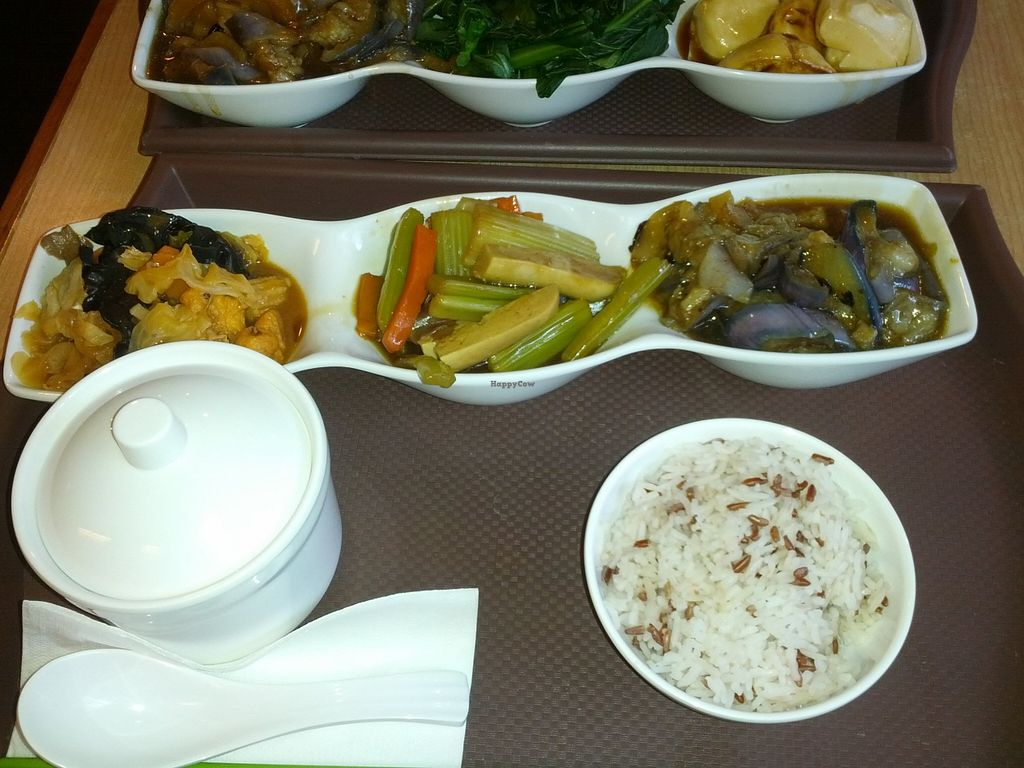 """Photo of Happy Veggies - Wanchai  by <a href=""""/members/profile/JW"""">JW</a> <br/>set lunch <br/> October 10, 2015  - <a href='/contact/abuse/image/25649/120927'>Report</a>"""