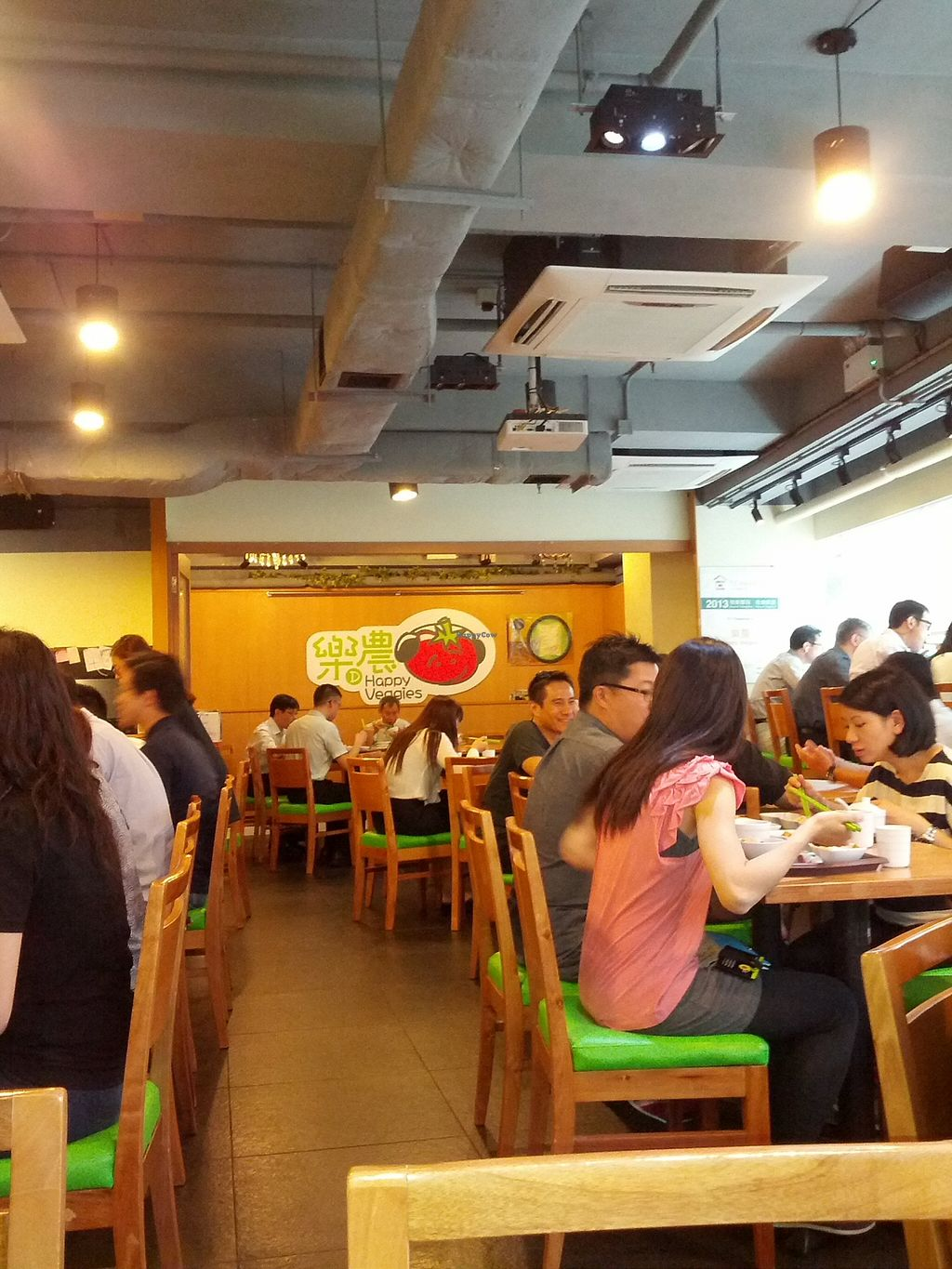 """Photo of Happy Veggies - Wanchai  by <a href=""""/members/profile/JW"""">JW</a> <br/>Interior <br/> October 10, 2015  - <a href='/contact/abuse/image/25649/120928'>Report</a>"""