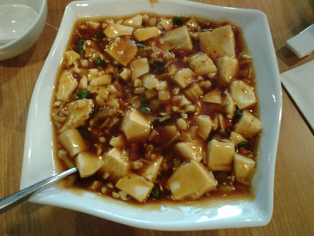 """Photo of Happy Veggies - Wanchai  by <a href=""""/members/profile/mrrfrost"""">mrrfrost</a> <br/>ma po tofu <br/> January 16, 2015  - <a href='/contact/abuse/image/25649/90495'>Report</a>"""
