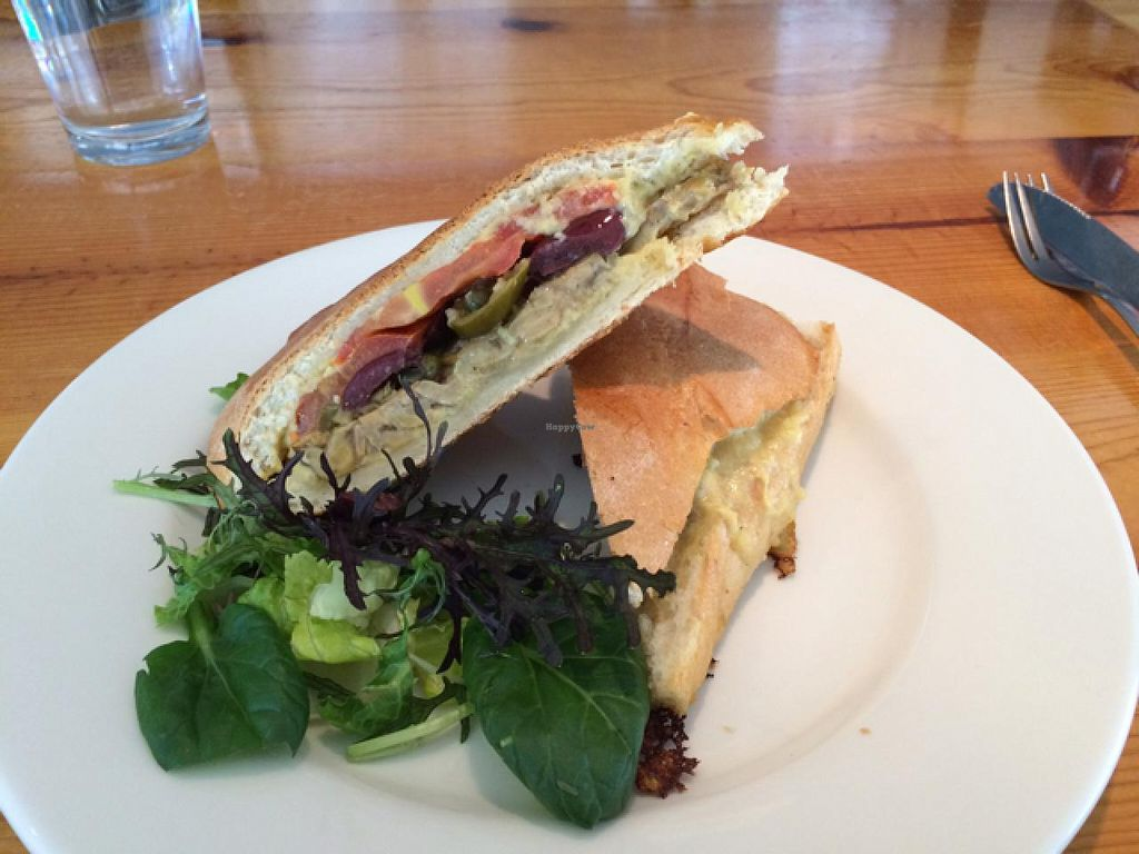 "Photo of Sage's Cafe  by <a href=""/members/profile/Vegan%20Vagabond"">Vegan Vagabond</a> <br/>Cuban Sandwich  <br/> June 6, 2015  - <a href='/contact/abuse/image/2564/104972'>Report</a>"