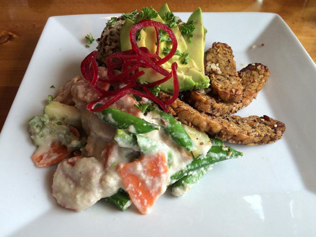 """Photo of Sage's Cafe  by <a href=""""/members/profile/Vegan%20Vagabond"""">Vegan Vagabond</a> <br/>The Machu Picchu <br/> June 6, 2015  - <a href='/contact/abuse/image/2564/104978'>Report</a>"""