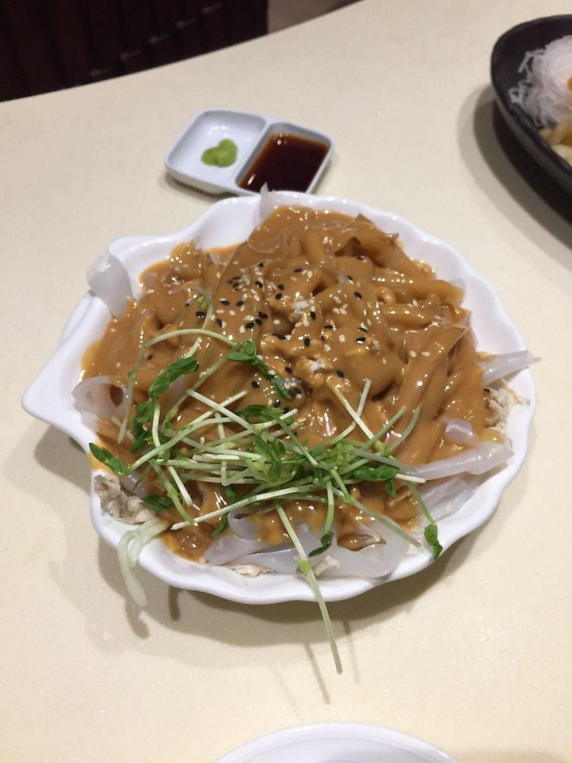 "Photo of Gaia Veggie Shop - Causeway Bay  by <a href=""/members/profile/FlokiTheCat"">FlokiTheCat</a> <br/>Rice skin with sesame sauce <br/> June 19, 2017  - <a href='/contact/abuse/image/25699/270751'>Report</a>"