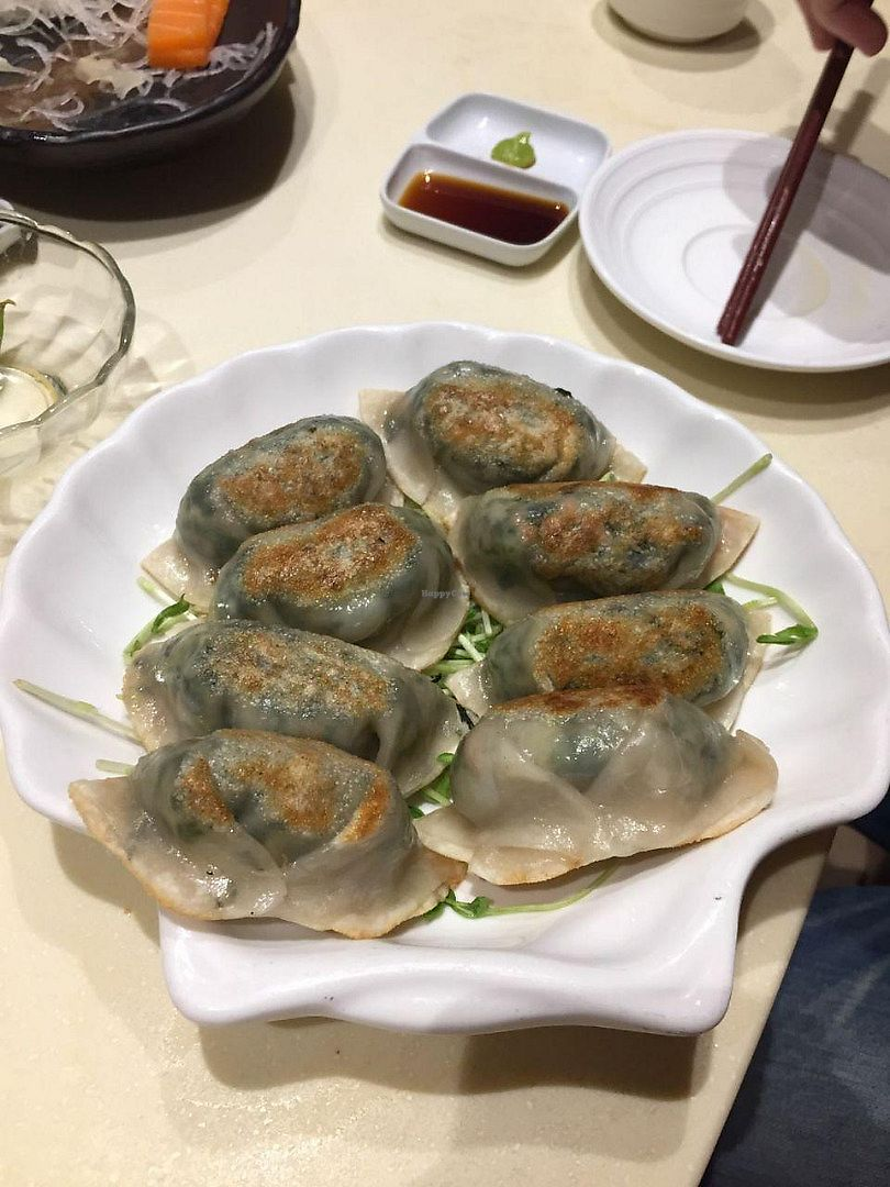 "Photo of Gaia Veggie Shop - Causeway Bay  by <a href=""/members/profile/FlokiTheCat"">FlokiTheCat</a> <br/>Fried vegetables dumplings <br/> June 19, 2017  - <a href='/contact/abuse/image/25699/270755'>Report</a>"