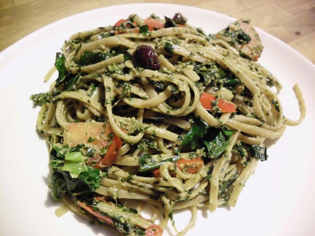 "Photo of Byow  by <a href=""/members/profile/byow"">byow</a> <br/>garden pesto pasta <br/> March 22, 2016  - <a href='/contact/abuse/image/25721/140899'>Report</a>"