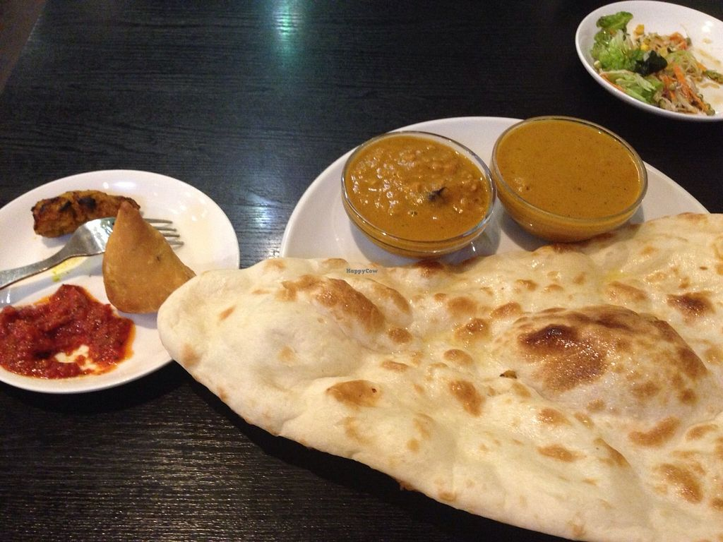 "Photo of Shama Vegetarian Indian Restaurant  by <a href=""/members/profile/Food1e"">Food1e</a> <br/>Curry and naan set meal <br/> April 3, 2016  - <a href='/contact/abuse/image/25725/142562'>Report</a>"