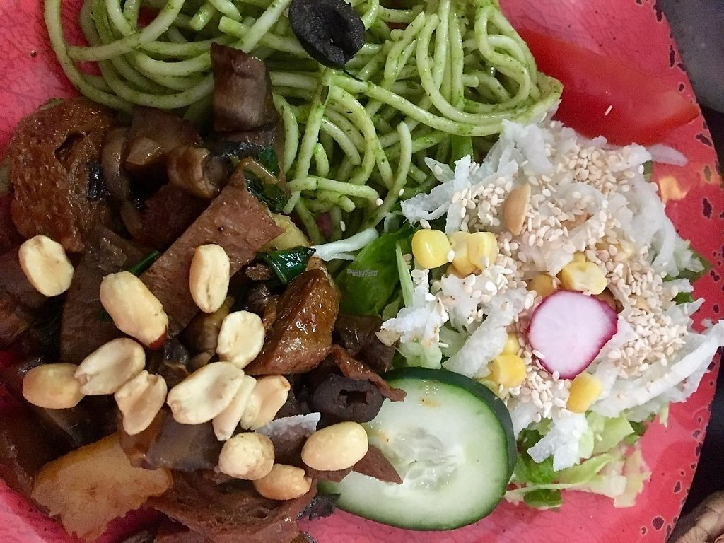 """Photo of Trigo Verde Naturistas Store and Cafe  by <a href=""""/members/profile/instantxkarmaa"""">instantxkarmaa</a> <br/>Main dish sampler <br/> February 8, 2017  - <a href='/contact/abuse/image/25734/224456'>Report</a>"""
