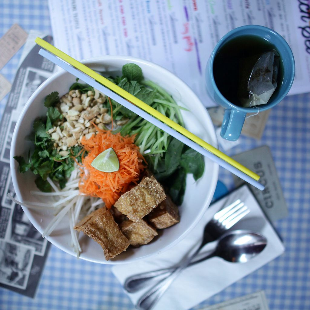 "Photo of Veggie SF  by <a href=""/members/profile/thecharlotte"">thecharlotte</a> <br/>Noodle salad with crispy tofu  <br/> December 16, 2017  - <a href='/contact/abuse/image/25747/336166'>Report</a>"