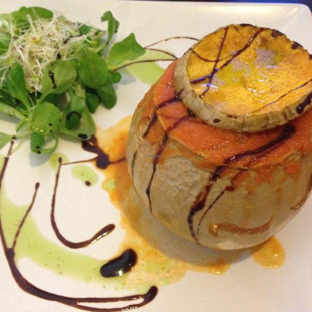 "Photo of Vegetariano El Calafate  by <a href=""/members/profile/Kimxula"">Kimxula</a> <br/>stuffed pumpkin <br/> June 24, 2014  - <a href='/contact/abuse/image/25756/72635'>Report</a>"