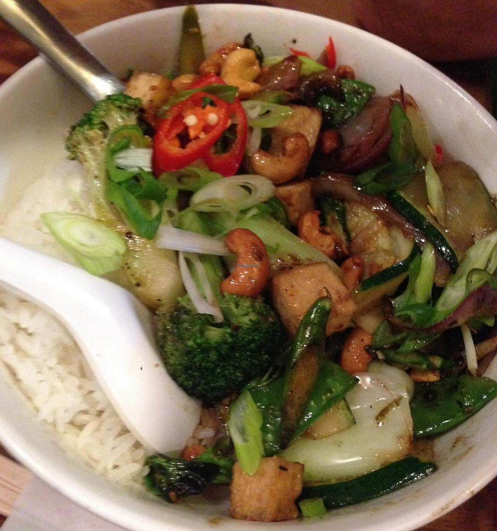 "Photo of Asia Joes  by <a href=""/members/profile/chantea"">chantea</a> <br/>Stir fry with rice and cashews <br/> April 26, 2014  - <a href='/contact/abuse/image/25785/251621'>Report</a>"