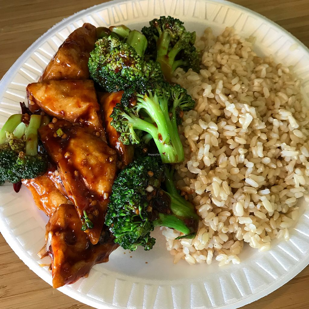 "Photo of Black Bamboo  by <a href=""/members/profile/Sarah%20P"">Sarah P</a> <br/>Broccoli with garlic sauce and brown rice <br/> March 1, 2018  - <a href='/contact/abuse/image/25806/365168'>Report</a>"