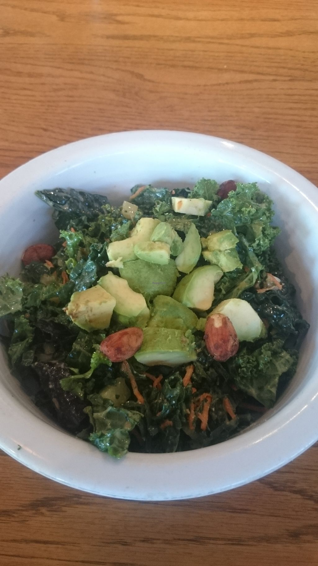 """Photo of Cafe Gratitude - Hollywood  by <a href=""""/members/profile/chb-pbfp"""">chb-pbfp</a> <br/>Kale salad <br/> October 30, 2017  - <a href='/contact/abuse/image/25808/320130'>Report</a>"""
