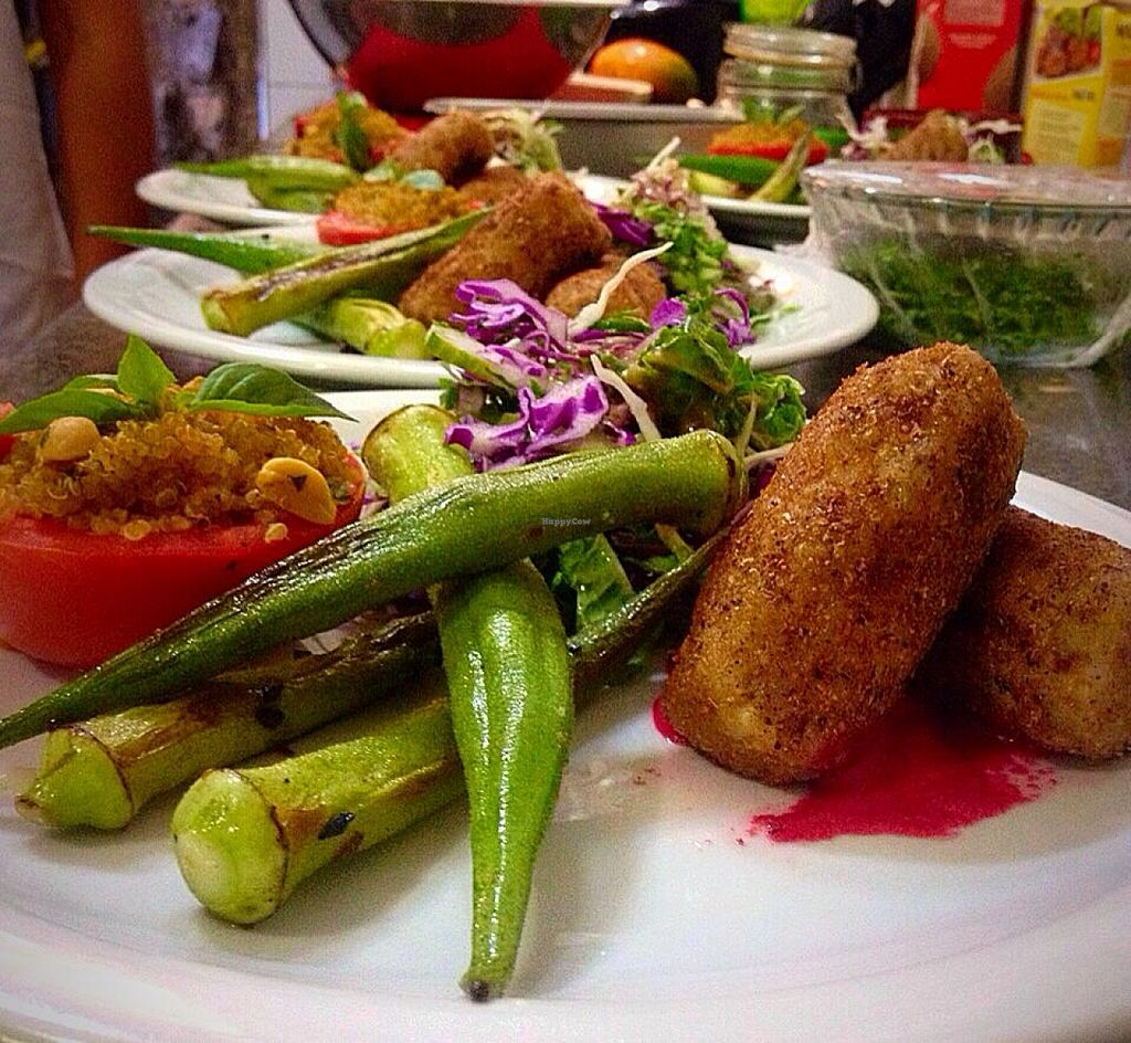 """Photo of Caminho do Mar  by <a href=""""/members/profile/community"""">community</a> <br/>Okra, plate of food <br/> October 23, 2015  - <a href='/contact/abuse/image/25815/122351'>Report</a>"""