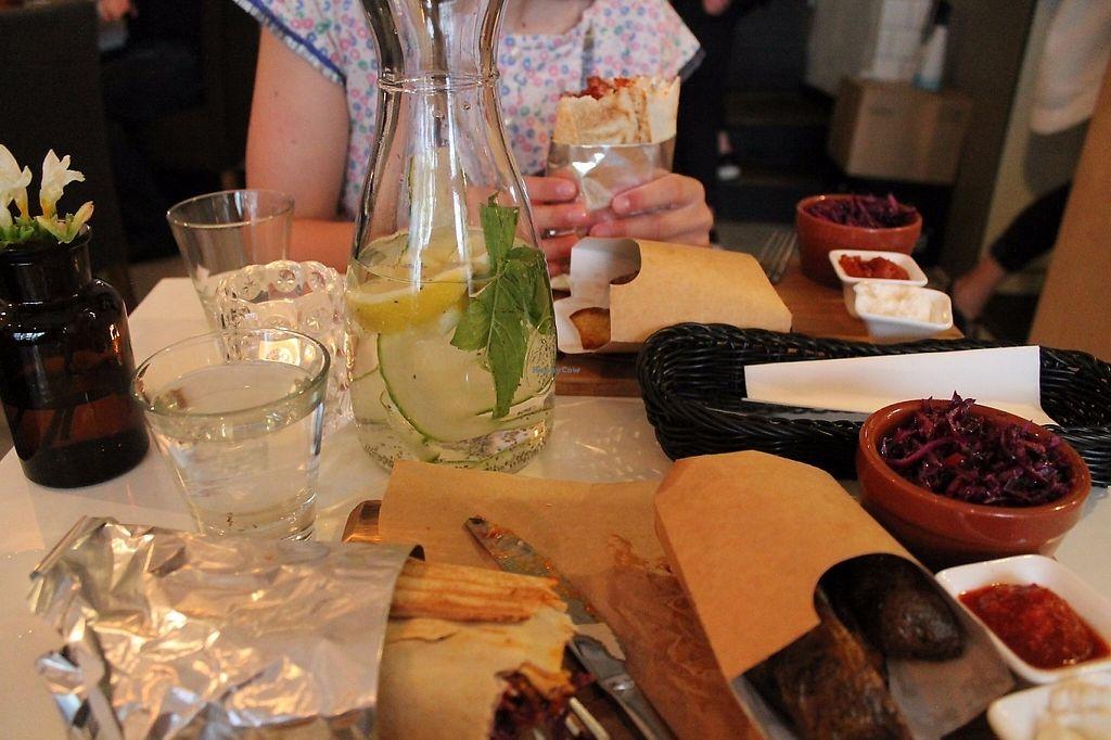 "Photo of Tel Aviv Food & Wine  by <a href=""/members/profile/MelanieSnoei"">MelanieSnoei</a> <br/>Best food ever!!!! <br/> June 3, 2017  - <a href='/contact/abuse/image/25838/265513'>Report</a>"