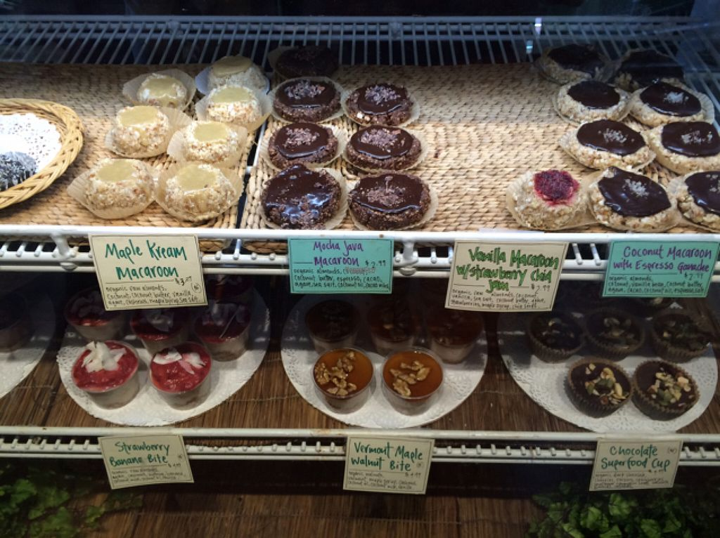 "Photo of CLOSED: Sweet Pea Natural Foods Cafe  by <a href=""/members/profile/User"">User</a> <br/>vegan desserts  <br/> August 12, 2016  - <a href='/contact/abuse/image/2583/167987'>Report</a>"