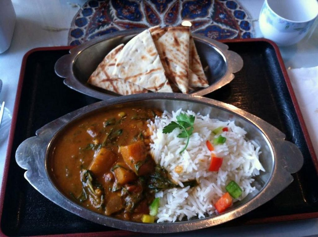 "Photo of Good Karma Restaurant  by <a href=""/members/profile/Meggie%20and%20Ben"">Meggie and Ben</a> <br/>Acorn squash and arugula curry <br/> August 16, 2014  - <a href='/contact/abuse/image/25894/77211'>Report</a>"