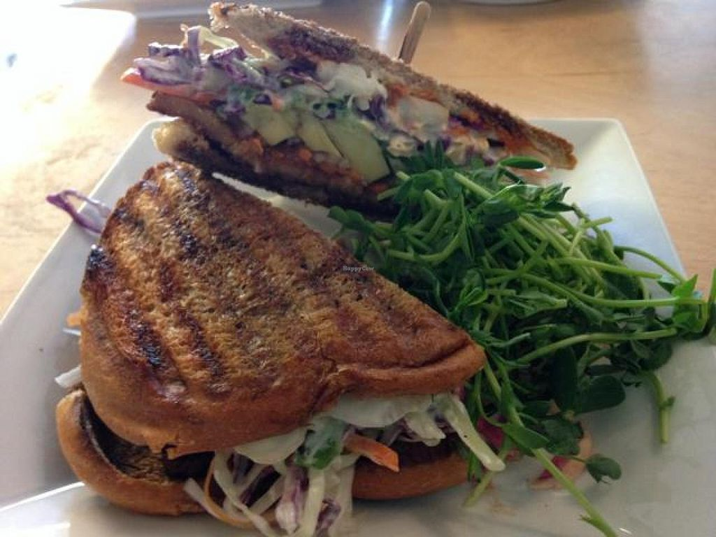 """Photo of Thrive Juice Bar  by <a href=""""/members/profile/gwild"""">gwild</a> <br/>banh mi sandwich  <br/> August 26, 2014  - <a href='/contact/abuse/image/25931/78276'>Report</a>"""