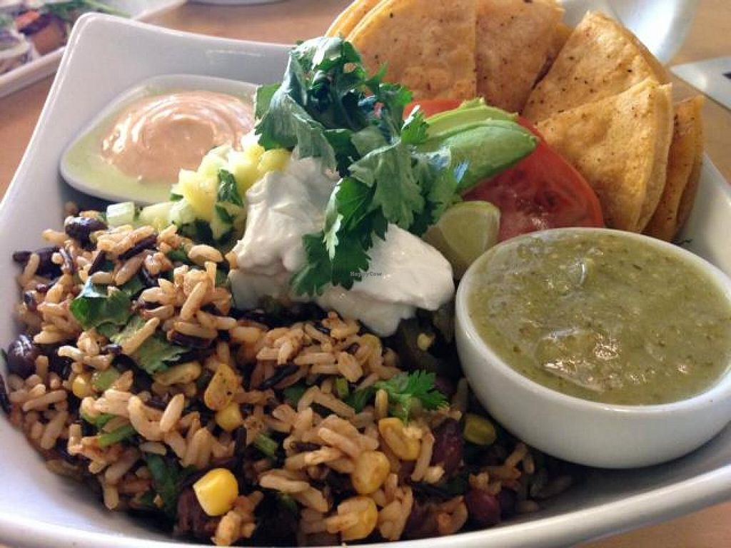 """Photo of Thrive Juice Bar  by <a href=""""/members/profile/gwild"""">gwild</a> <br/>taco bowl. amazing <br/> August 26, 2014  - <a href='/contact/abuse/image/25931/78278'>Report</a>"""