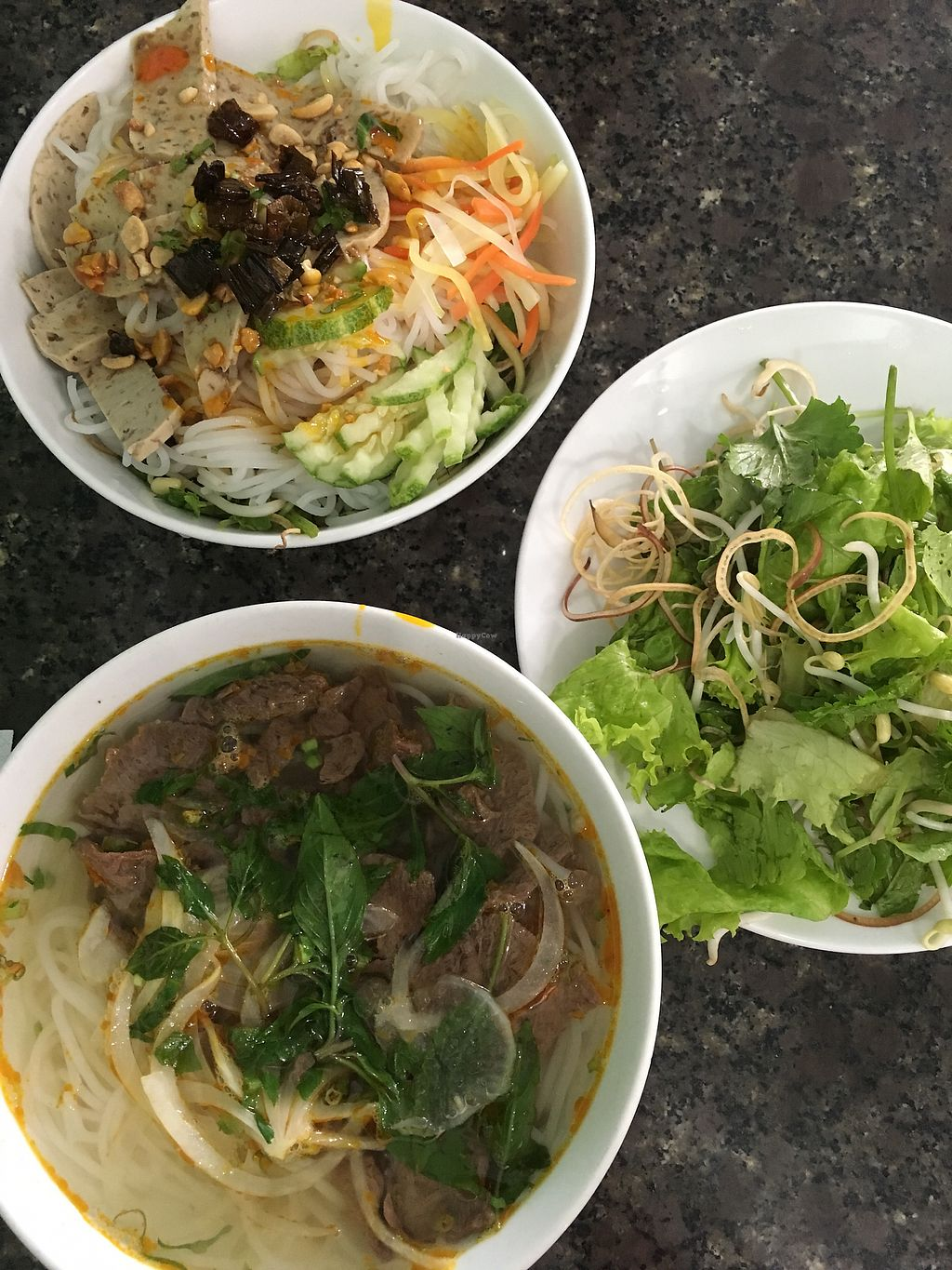 """Photo of Ngoc Chi  by <a href=""""/members/profile/Sharen"""">Sharen</a> <br/>Noodle fish sauce and beef noodle soup <br/> July 1, 2017  - <a href='/contact/abuse/image/25980/275484'>Report</a>"""