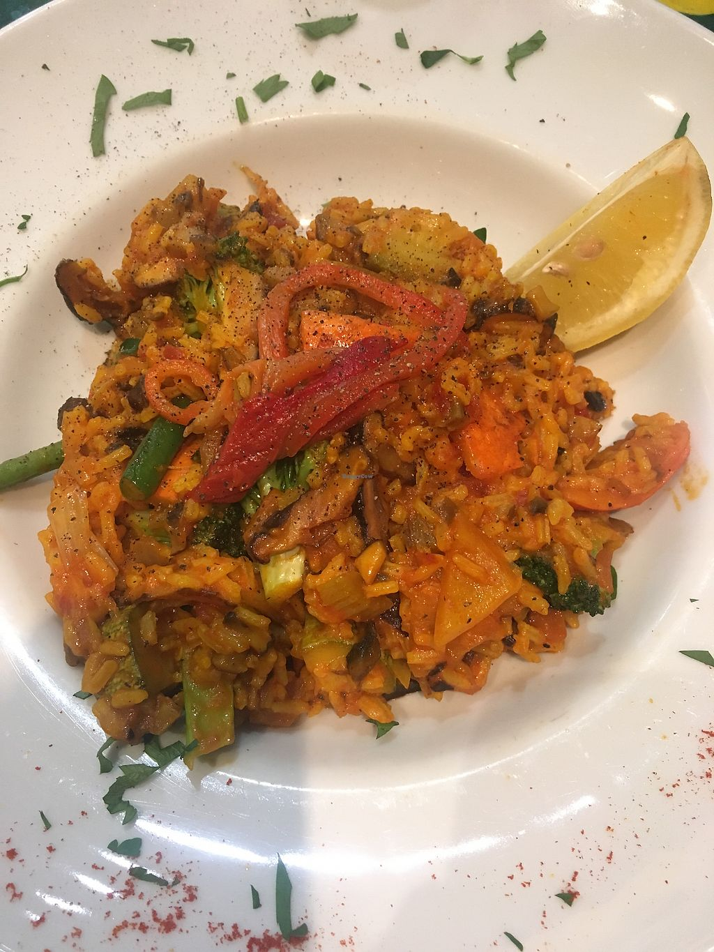 """Photo of Avocado  by <a href=""""/members/profile/Marieanne"""">Marieanne</a> <br/>Vegan paella <br/> March 24, 2018  - <a href='/contact/abuse/image/26015/375124'>Report</a>"""