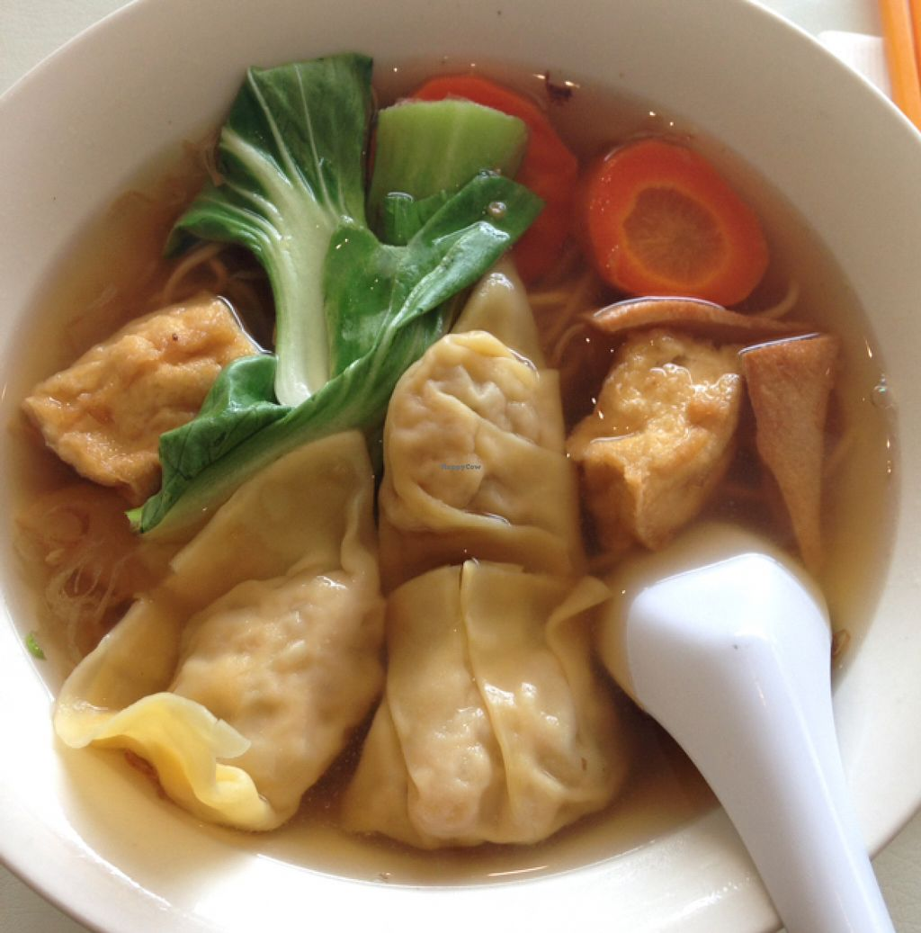 "Photo of Loving Hut  by <a href=""/members/profile/nardanddee"">nardanddee</a> <br/>wonton noodle soup <br/> July 1, 2016  - <a href='/contact/abuse/image/26019/157229'>Report</a>"