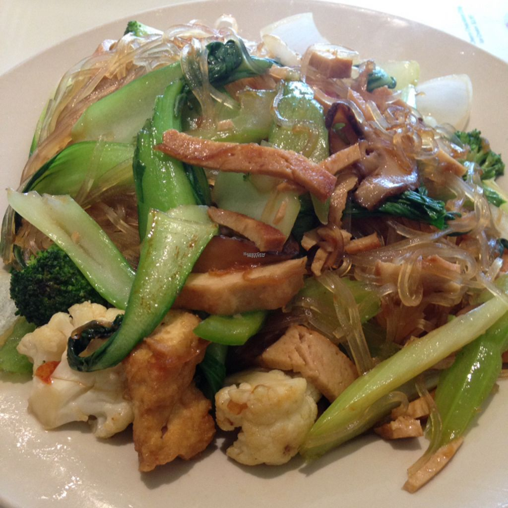 "Photo of Loving Hut  by <a href=""/members/profile/nardanddee"">nardanddee</a> <br/>stir-fries glass noodles and veggies <br/> August 16, 2016  - <a href='/contact/abuse/image/26019/169152'>Report</a>"