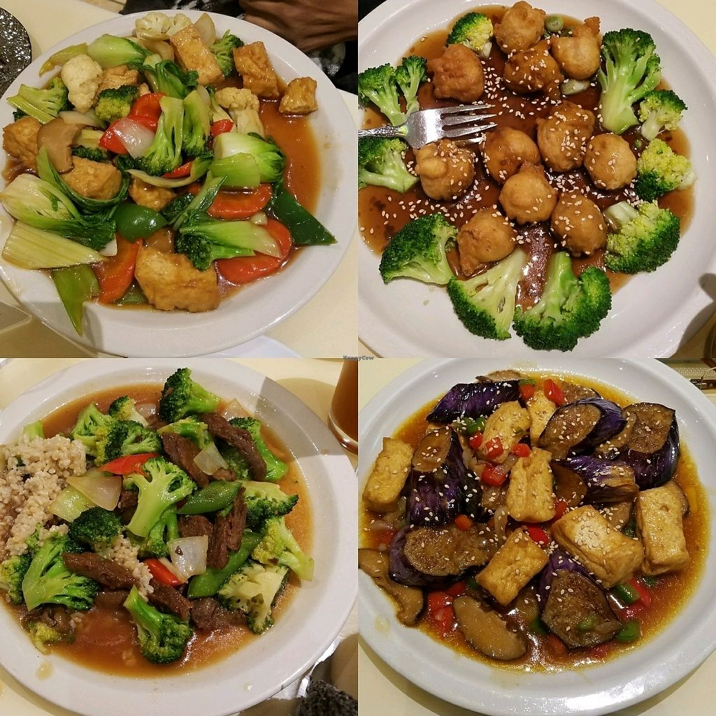 "Photo of Loving Hut  by <a href=""/members/profile/Butterflymouse"">Butterflymouse</a> <br/>dinner was fabulous! <br/> April 15, 2018  - <a href='/contact/abuse/image/26019/386354'>Report</a>"