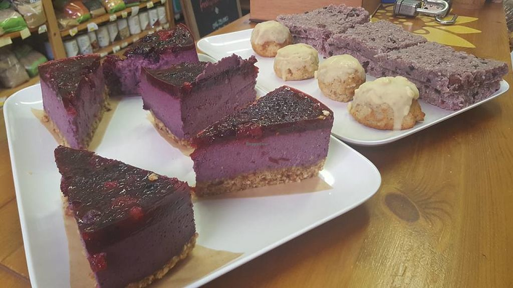 Photo of Currant Affairs  by CurrantAffairs <br/>Vegan and Gluten Free Goodies for the counter at Currant Affairs, Leicester <br/> June 16, 2016  - <a href='/contact/abuse/image/26029/154270'>Report</a>