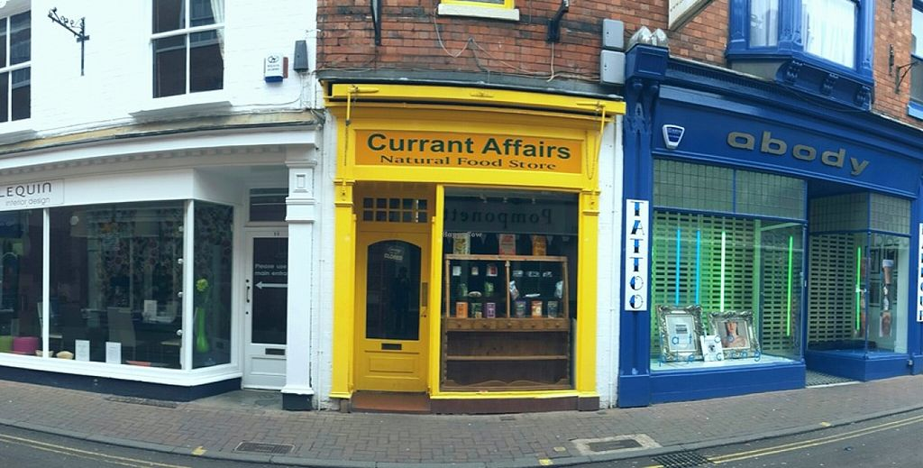Photo of Currant Affairs  by CurrantAffairs <br/>Look out for the little yellow shop on Loseby Lane, Leicester for sandwiches, cakes, flapjacks, pasties, flans, quiches served daily between 9.30am and 5.30pm Monday - Saturday.