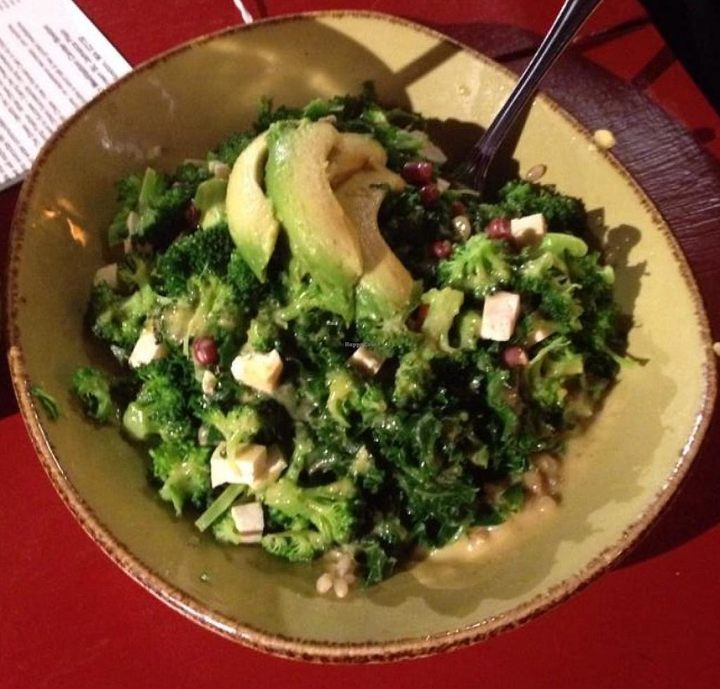 "Photo of Life Alive Organic Cafe  by <a href=""/members/profile/Fit_Fathers"">Fit_Fathers</a> <br/>This is the Green Goddess. Kale, onions, avacado, onions, tofu <br/> June 26, 2015  - <a href='/contact/abuse/image/26051/202568'>Report</a>"