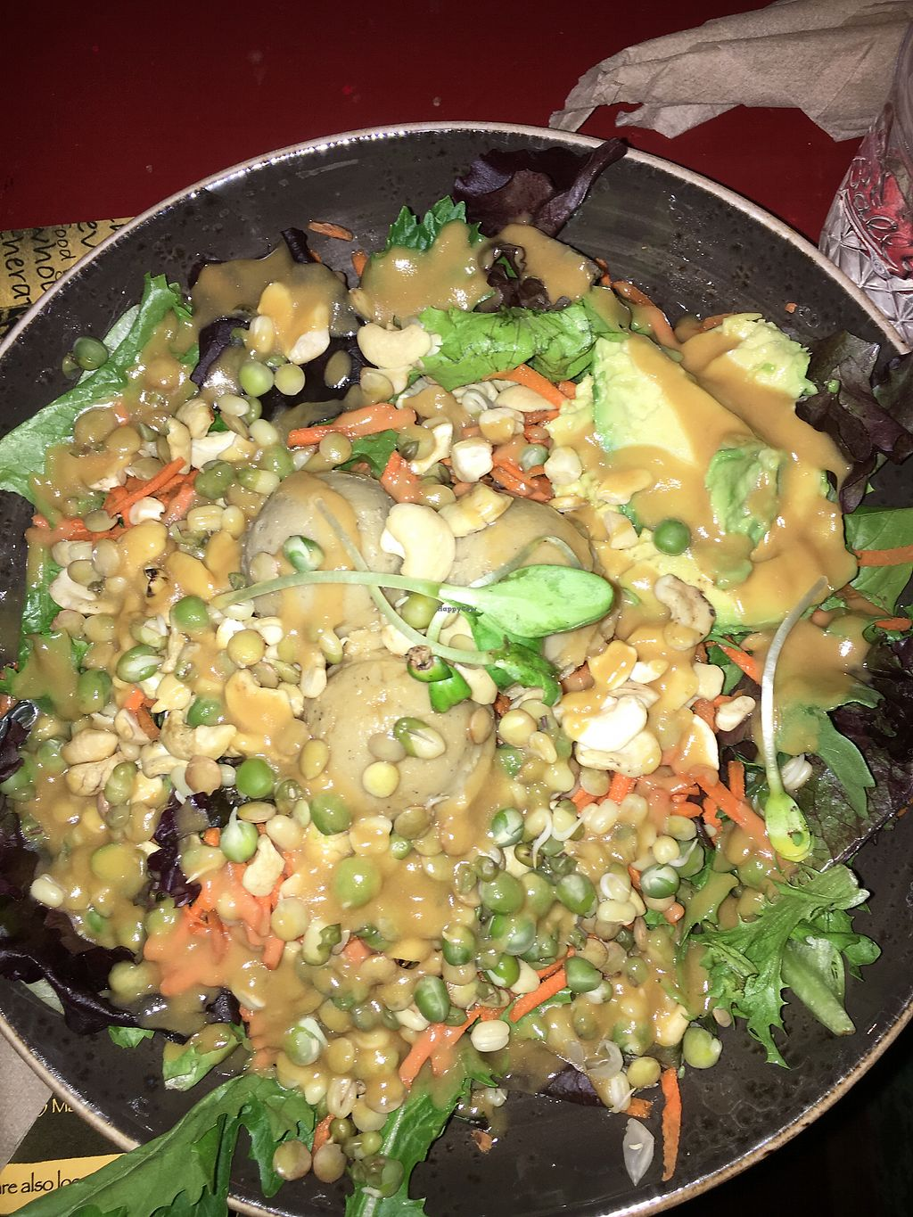 "Photo of Life Alive Organic Cafe  by <a href=""/members/profile/daroff"">daroff</a> <br/>Warrior Salad Bowl (w/sprouted legumes and avocado) <br/> October 5, 2017  - <a href='/contact/abuse/image/26051/311898'>Report</a>"