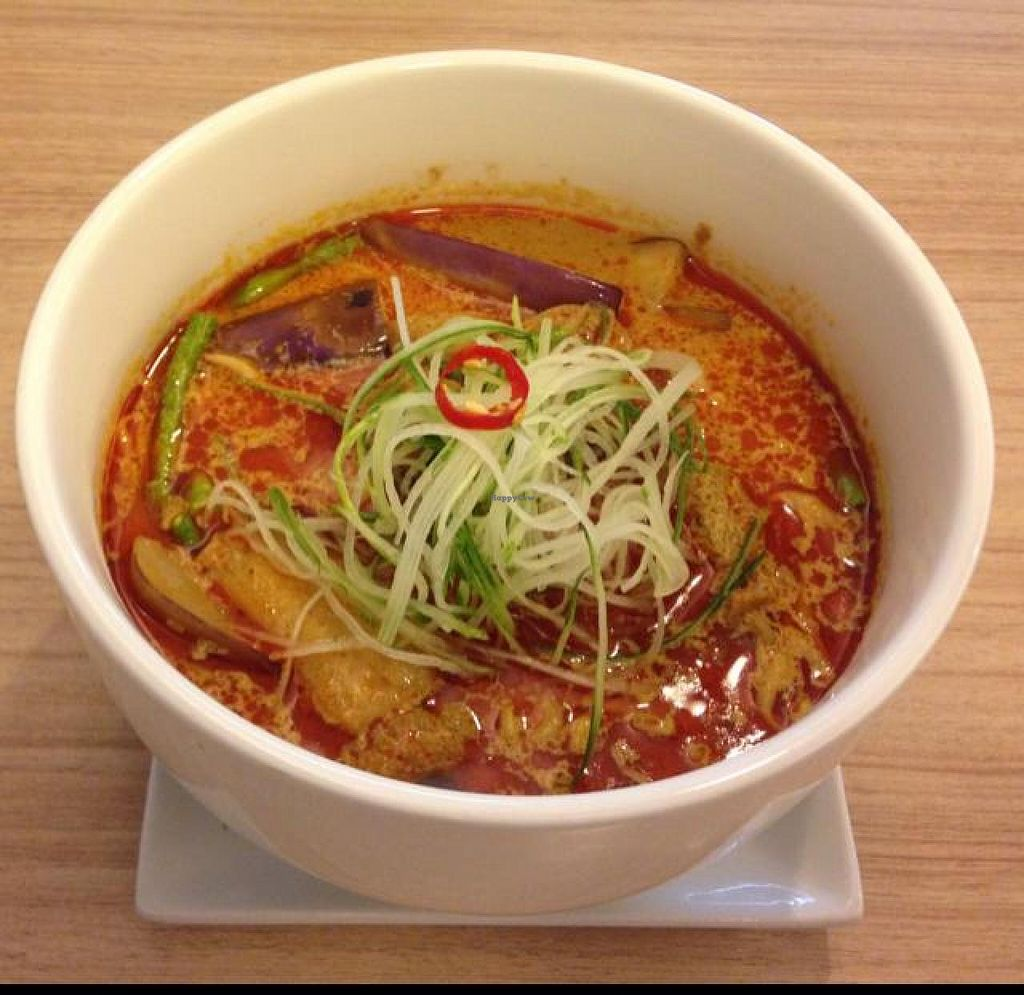 "Photo of Veggie Planet  by <a href=""/members/profile/VeganMush"">VeganMush</a> <br/>Nyonya curry ramen 10/10 <br/> May 17, 2014  - <a href='/contact/abuse/image/26064/70135'>Report</a>"