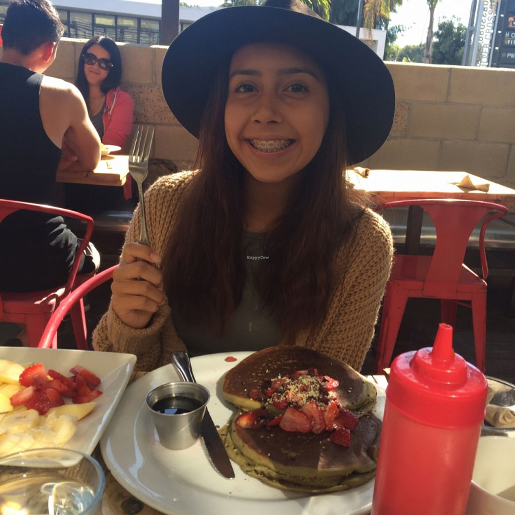"""Photo of Sage Vegan Bistro and KindKreme  by <a href=""""/members/profile/amyrrobles"""">amyrrobles</a> <br/>super filling super food pancakes! <br/> March 8, 2016  - <a href='/contact/abuse/image/26073/139336'>Report</a>"""