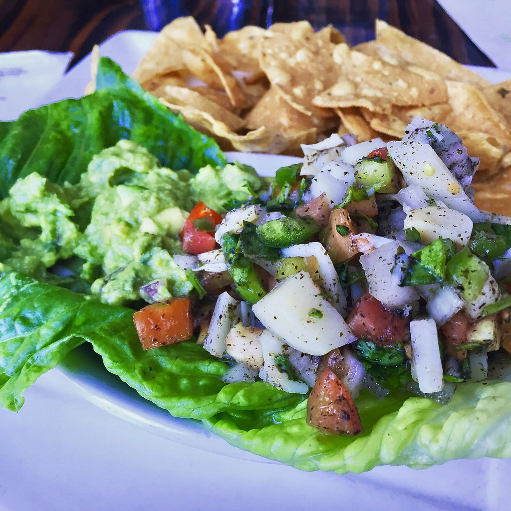 """Photo of Sage Vegan Bistro and KindKreme  by <a href=""""/members/profile/VeganCookieLover"""">VeganCookieLover</a> <br/>Hearts of Palm Ceviche <br/> August 30, 2017  - <a href='/contact/abuse/image/26073/299055'>Report</a>"""