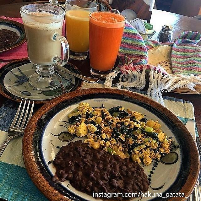 "Photo of Hotel Santa Fe  by <a href=""/members/profile/hakunapatata"">hakunapatata</a> <br/>Tofu scramble with spinach and beans <br/> February 26, 2018  - <a href='/contact/abuse/image/26123/363989'>Report</a>"