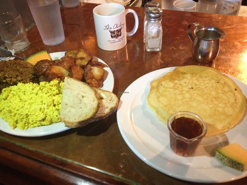 """Photo of The Owlery  by <a href=""""/members/profile/vegan_ryan"""">vegan_ryan</a> <br/>This American Brunch <br/> October 14, 2015  - <a href='/contact/abuse/image/26138/121302'>Report</a>"""