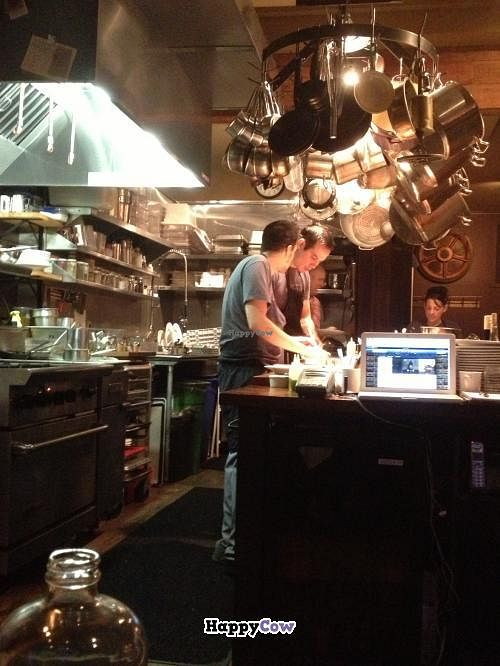 """Photo of CLOSED: Natural Selection  by <a href=""""/members/profile/twovegans"""">twovegans</a> <br/>View of the kitchen from the Chef's table <br/> September 8, 2013  - <a href='/contact/abuse/image/26156/54668'>Report</a>"""