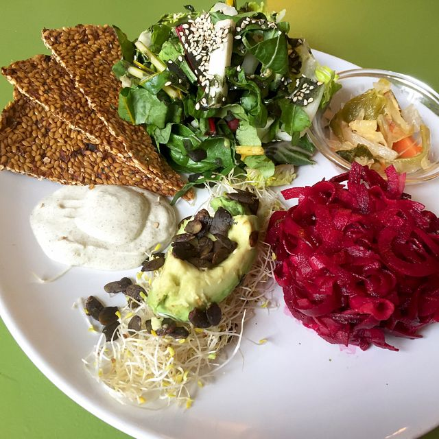 """Photo of Alchemist Garden  by <a href=""""/members/profile/NatalieDowelMcIntosh"""">NatalieDowelMcIntosh</a> <br/>Red & Green Salad Plate  <br/> September 2, 2016  - <a href='/contact/abuse/image/26197/173072'>Report</a>"""