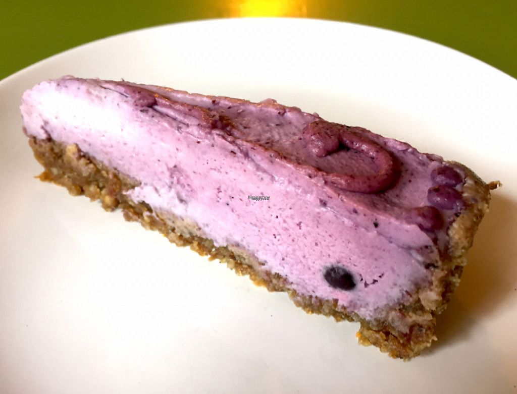 """Photo of Alchemist Garden  by <a href=""""/members/profile/NatalieDowelMcIntosh"""">NatalieDowelMcIntosh</a> <br/>Raw Blueberry Pie <br/> September 2, 2016  - <a href='/contact/abuse/image/26197/193317'>Report</a>"""